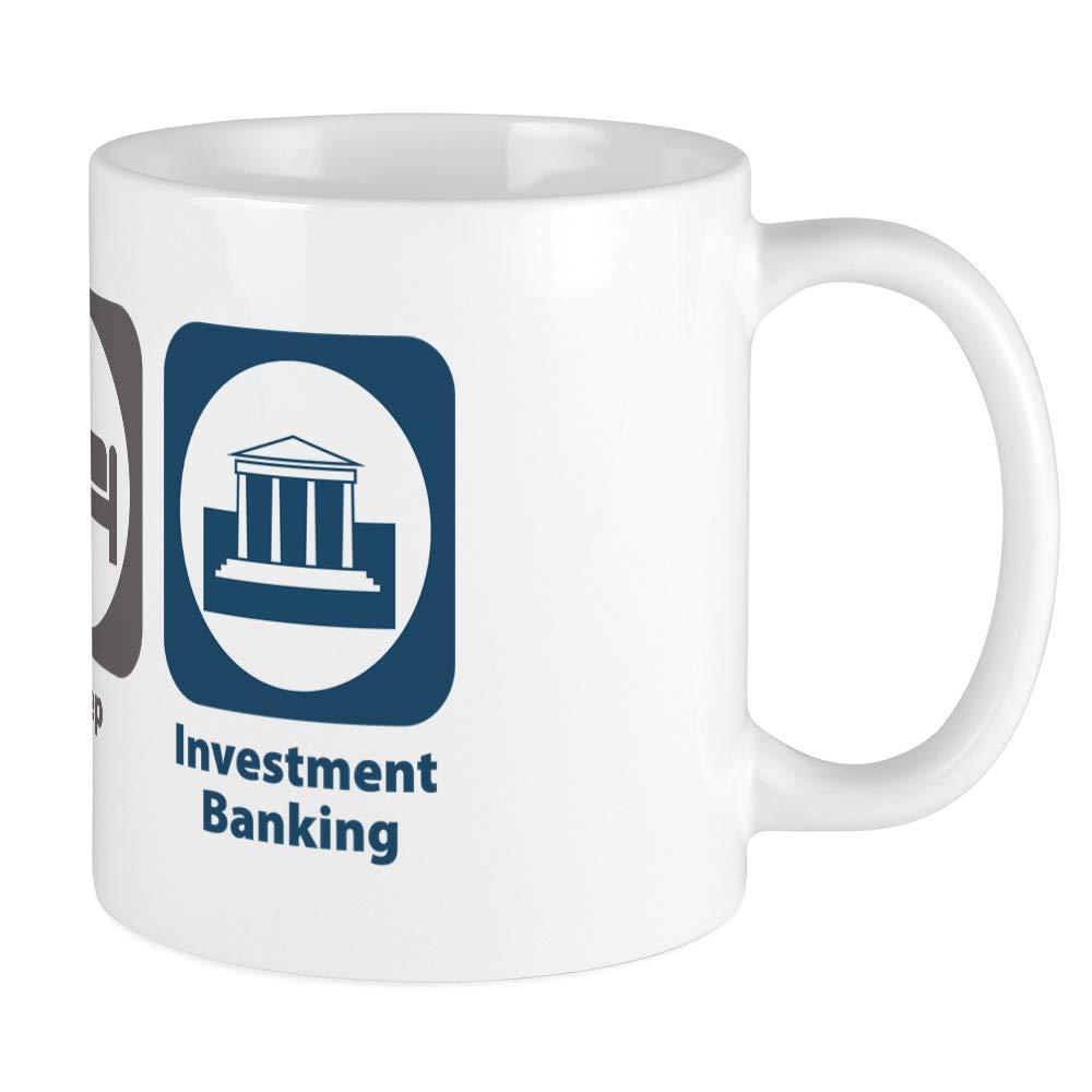 Funny Eat Sleep Investment Banking 11オンス ファニーギフトマグ B07J9KYQ3Z