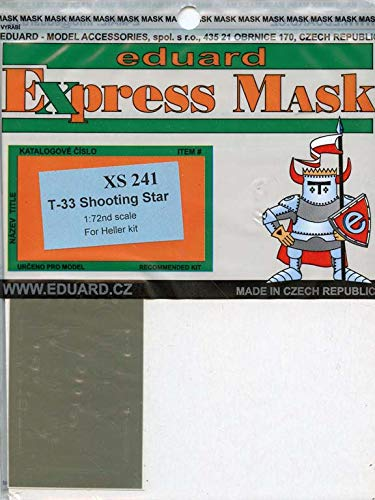 Used, Eduard 1:72 T-33 Shooting Star Paint Mask for Heller for sale  Delivered anywhere in USA
