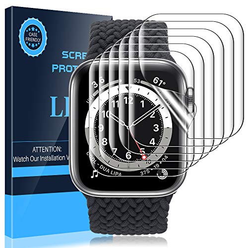 LK [6 Pack] Screen Protector for Apple Watch