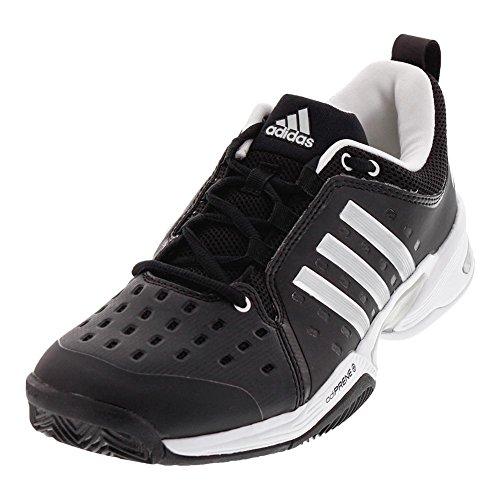 - adidas  Barricade Classic Wide 4E Tennis Shoe,black/silver metallic/white,8 US