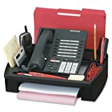 Wholesale CASE of 10 - Compucessory Telephone Stands / Organizers-Telephone Stand/Organizer, 11-1/2''x9-1/2''x5'', Black