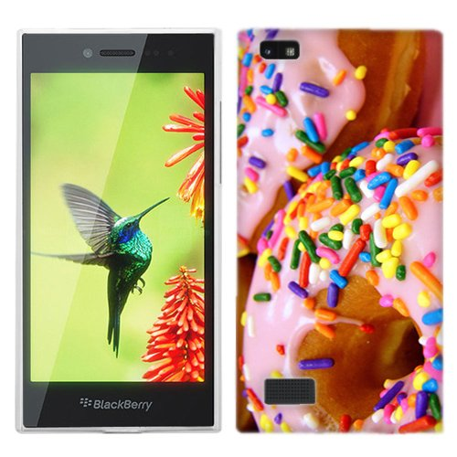 for Blackberry Leap Sprinkle Donut Phone Cover Case
