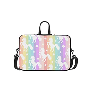 Amazon.com: interestprint lindo gato unicornio Cupcake Funda ...