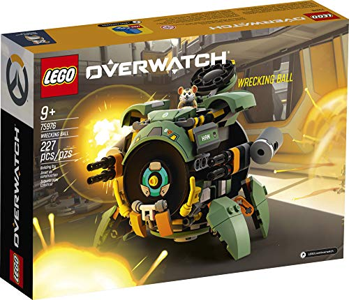 LEGO Overwatch Wrecking Ball 75976 Building Kit, Overwatch Toy for Girls and Boys Aged 9+ (227 Pieces)