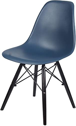 GIA Teal Color Armless Side Dining Chair Set of 2