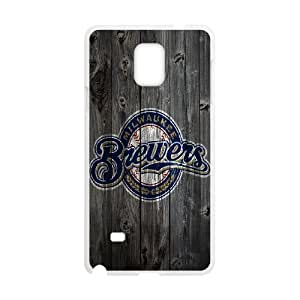 Custom Case Milwaukee Brewers for Samsung Galaxy Note 4 N9100 V4L3518069