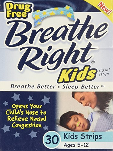 Kids Nasal Strips - 30 ct,(Breathe Right) by Breathe Right