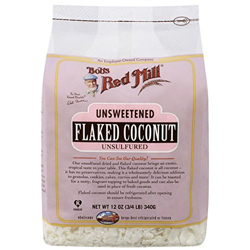 Bobs Red Mill Coconut Flour (Bob's Red Mill Unsweetened Flaked Coconut - 12 oz (3/4 LB ))