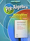 Pre-Algebra, Noteables : Interactive Study Notebook with Foldables, McGraw-Hill Staff, 0078772109