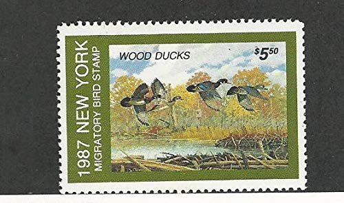 United States Postage Stamp New York Duck Mint NH 1987 At