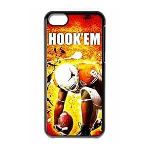 DIY Case 15 Sports NCAA Texas Longhorns Footballl iPhone 5C Case-Just DO It