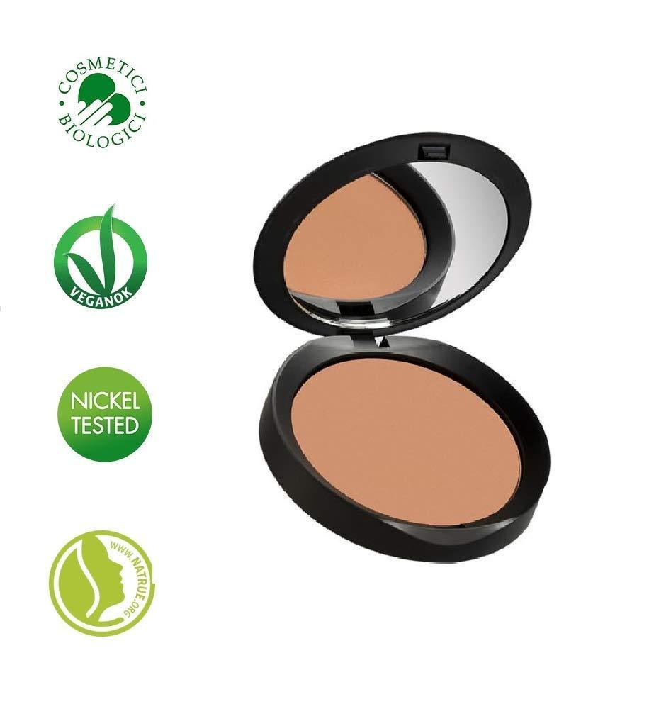 PUROBIO COSMETICS - Bronzer Resplendent Matt 03 - Terra compatta per un colorito radioso e abbronzato - Leggera e vellutata - Vegan -Nickel tested - 9 gr Yumi Bio Shop