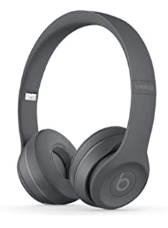 Beats Solo3 MPXH2ZM/A Wireless On-Ear Headphones (Asphalt Gray) On-Ear at amazon