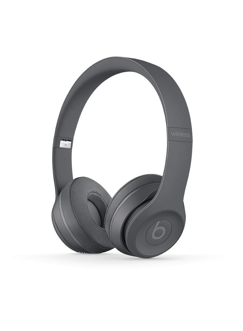 Beats Solo3 MPXH2ZM/A Wireless On-Ear Headphones (Asphalt Gray)