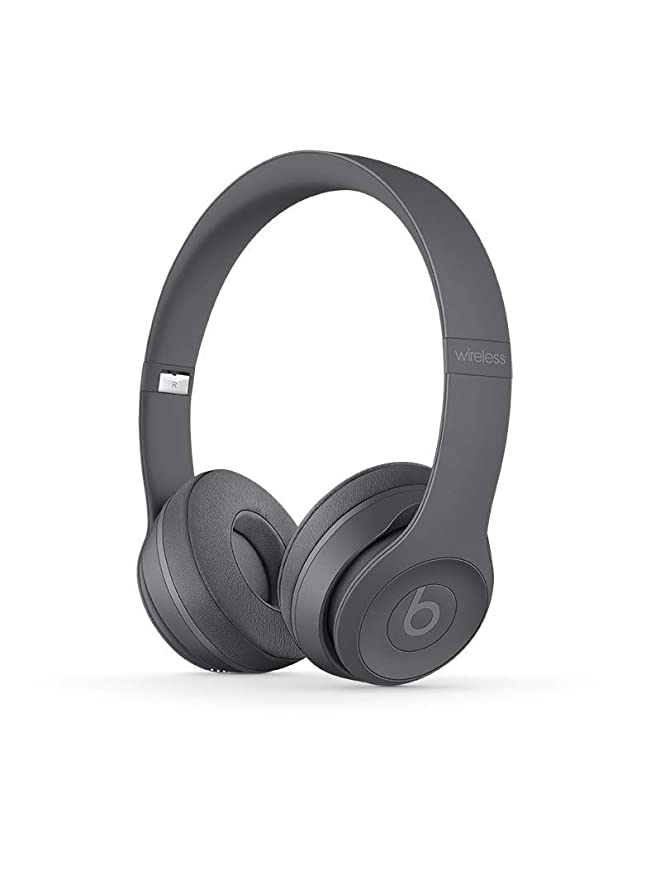 Beats Solo3 MPXH2ZM/A Wireless On-Ear Headphones (Asphalt Gray) at amazon