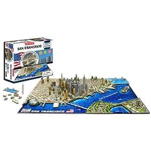 4D Cityscape San Francisco Puzzle