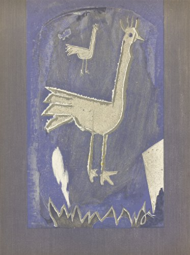 1953 Georges Braque Frontispice Mourlot Lithograph