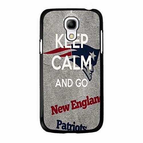 Krone grau Custom Design NFL New England Patriots Handy Schutzhülle für Samsung Galaxy S4Mini
