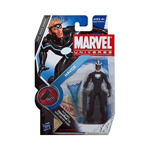 Marvel Universe Series 2 Figure 018 Havok 3-3/4 Inch Scale Variant Action Figure by Hasbro