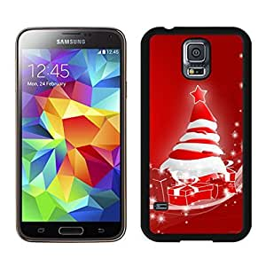 Featured Desin Merry Christmas Black Samsung Galaxy S5 Case 67