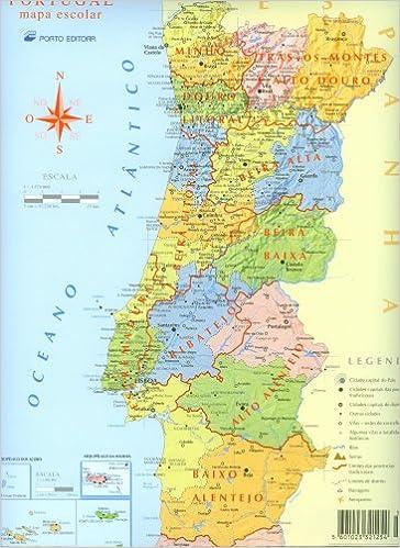 portugal mapa escolar porto editora mapa escolar PORTUGAL mapa escolar/Porto Editora (Mapa Escolar): Porto Editora  portugal mapa escolar porto editora mapa escolar