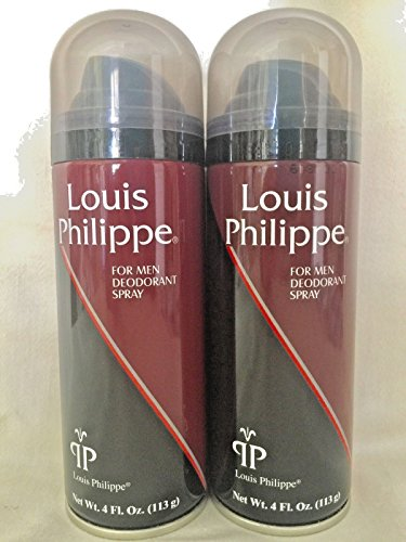 lot-of-2-louis-philippe-deodorant-spray-original-4-fl-oz-aerosol-new-free-ship