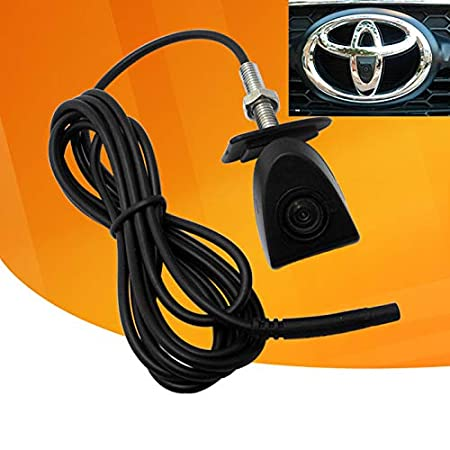 iNewcow Car Front View Logo Embeded Camera For Toyota with CCD Waterproof IP67 Wide Degree Sides