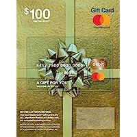 Tarjeta de regalo Mastercard de $100 (más $5.95 Tarifa de compra)