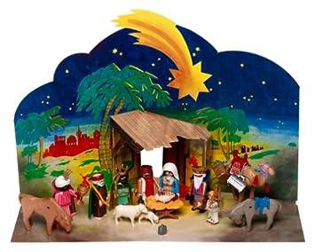 Playmobil Weihnachtskrippe.Amazon De Playmobil Weihnachtskrippe Heilige Drei Konige