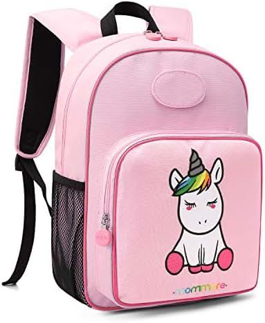 mommore Cute Unicorn Kids Backpack Preschool Toddler Backpack for 3-7 Years Old Boys/Girls, Pink