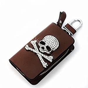 cool bright cool car skull automotive interior accessories key chains holder bag. Black Bedroom Furniture Sets. Home Design Ideas
