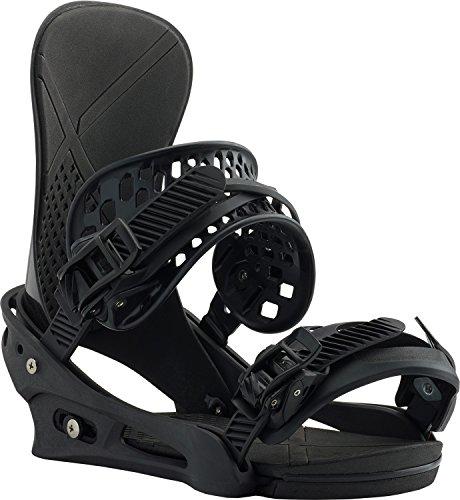Burton X-Base Snowboard Bindings Mens Sz M (8-11) Black Matte
