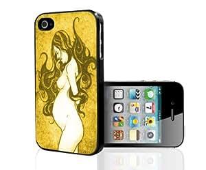 Fertility Goddess Yellow Hue Hard Snap on Phone Case (iPhone 4/4s)