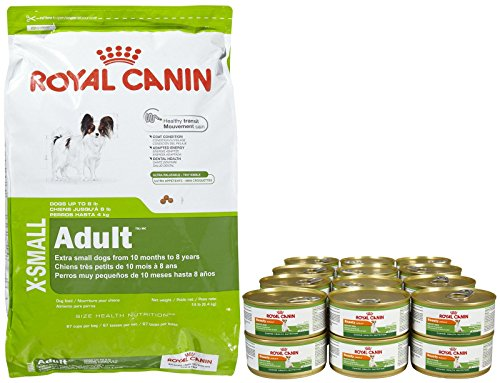 Royal Canin Size Health Nutrition X-Small Adult Bundle