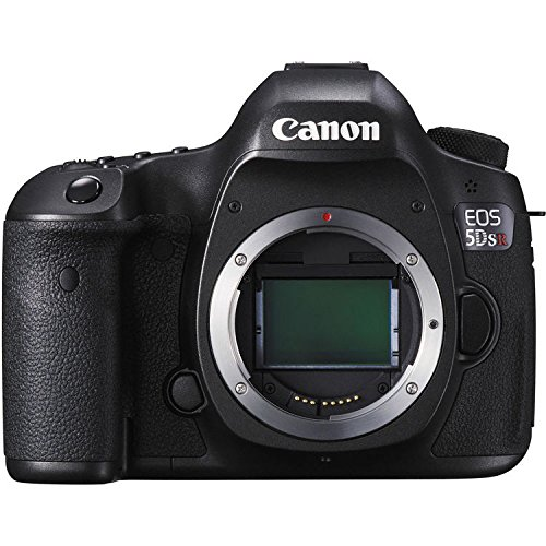 Canon 0582C002-IV EOS 5DS R Digital SLR with Low-Pass Filter Effect Cancellation (Body Only) International Version (No Warranty), Black