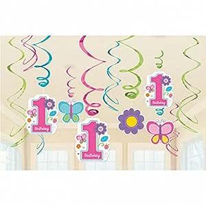 12 espirales decorativas para cumpleañera Decoración ...