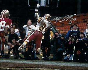 Gary Clark Autographed Washington Redskins 8x10 Photo