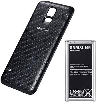 Batería Original Samsung Galaxy S5 con carcasa Original trasera y ...