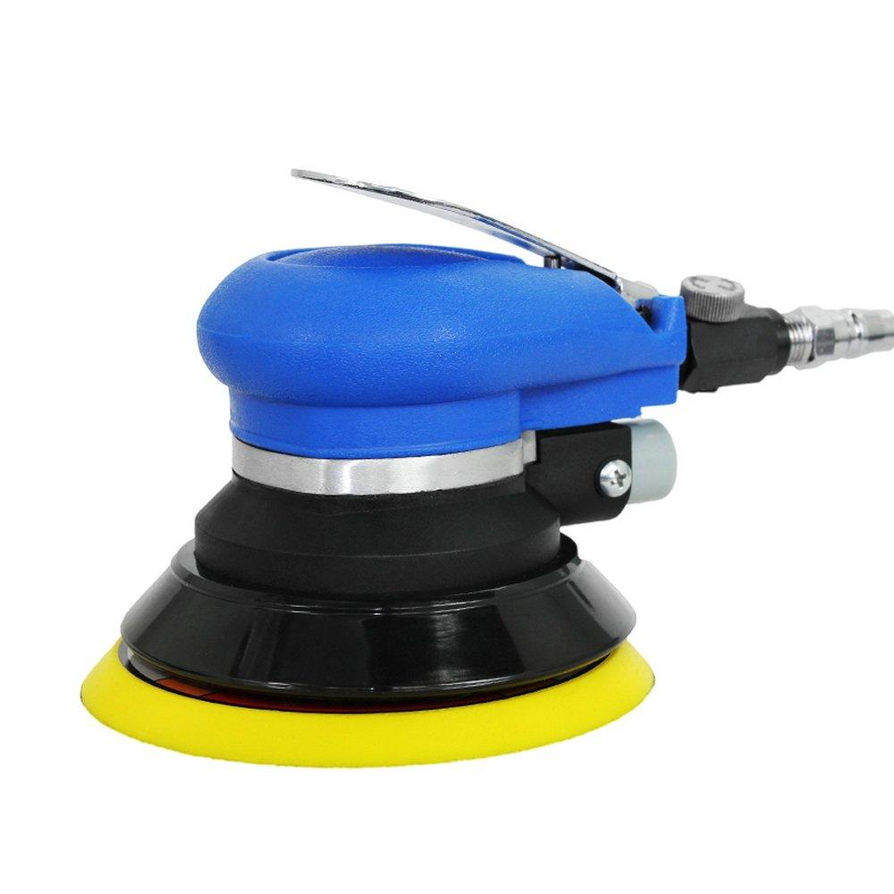 5'' Air sander Pneumatic Polisher Wax Polishing Automotive Tool Burnish Machine by BEESS