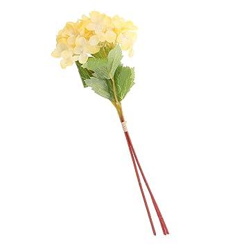 Amazon jili online 3 piecessheaf artificial imitation vivid jili online 3 piecessheaf artificial imitation vivid hydrangea flowers floral bouquet wedding bridal home mightylinksfo