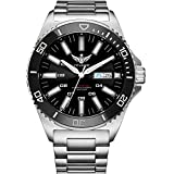 tritium Watch, Dive Watches for Men Yelang Automatic meachnical Wrist Watch T100 H3