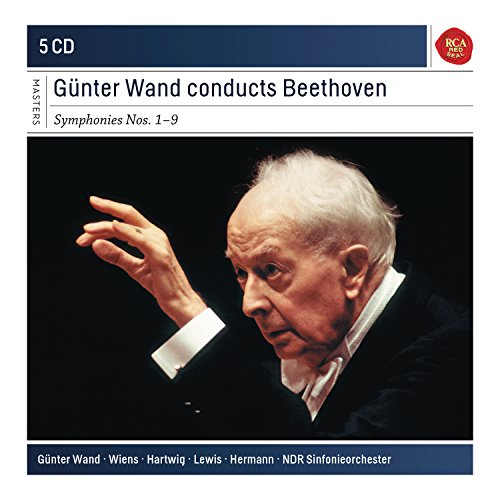 Price comparison product image Günter Wand Conducts Beethoven Symphonies 1-9 (Sony Classical Masters)