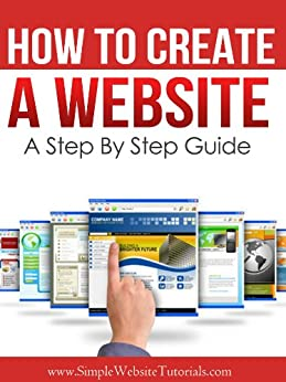 How Create Website Step Guide ebook product image