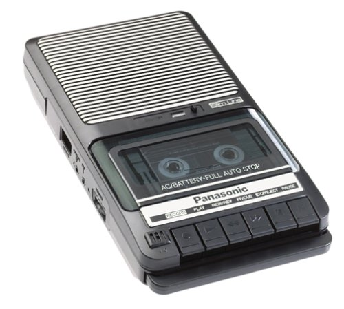 Old fashioned tape recorder