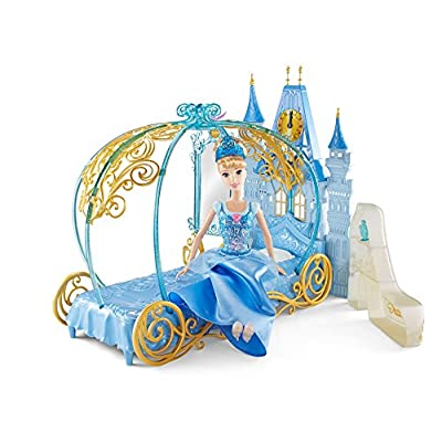 Disney Princess Cinderella's Dream Bedroom Playset Doll: Toys & Games