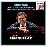 Brahms: Handel Variations op 24, Six Piano Pieces op 118, Two Rhapsodies op 79 (CBS)