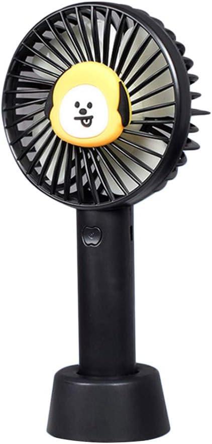 Christ For Givek Kpop BTS Mini ventilateur portable portable portable avec batterie rechargeable USB H07