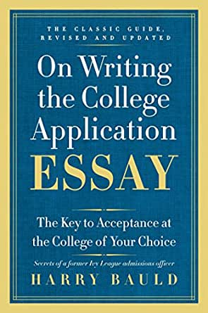 Teaching college application essay writing