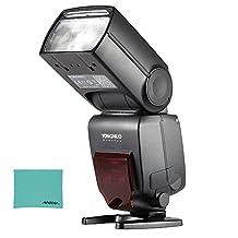 YONGNUO YN660 GN66 2.4G Wireless Master Slave Speedlite Flash for Nikon Canon DSLR Camera Compatible with YN560-TX/RF-603/RF-602/RF 603II/YN560 IV/YN560 III/RF605 (upgraded version of YN560-IV)