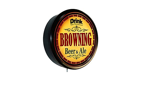 Amazon.com: BROWNING Beer and Ale Cerveza Lighted Wall Sign: Home & Kitchen